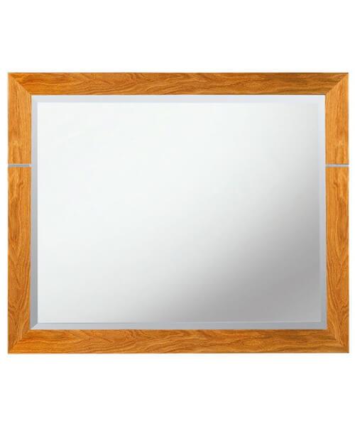 Imperial Cuda 710 x 570mm Bathroom Mirror Natural Oak