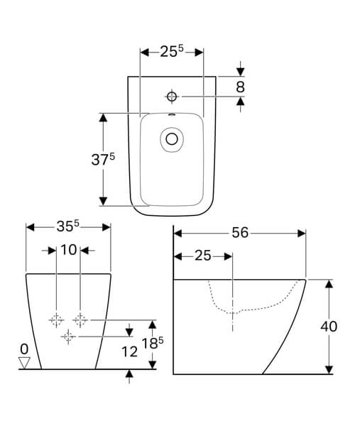 Technical drawing 61620 / 231950000