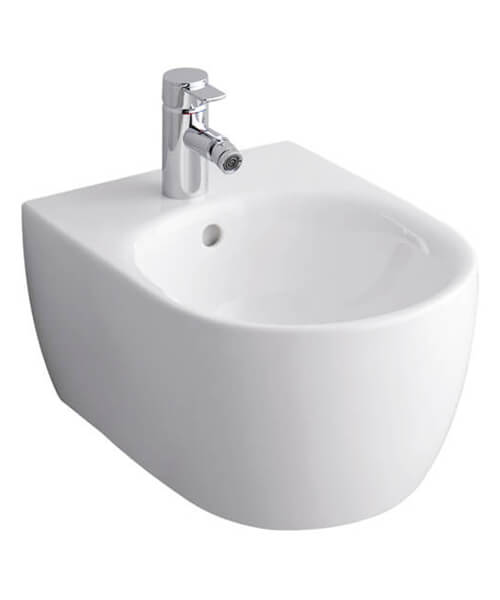 Geberit Icon 355 x 540mm Wall Hung Bidet White
