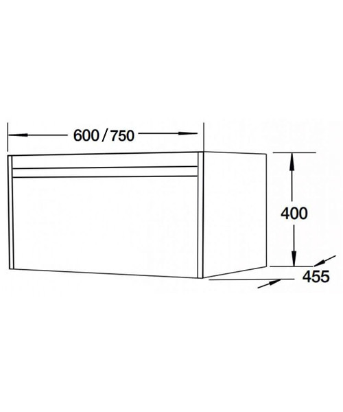 Technical drawing 55123 / FH10156-600WG