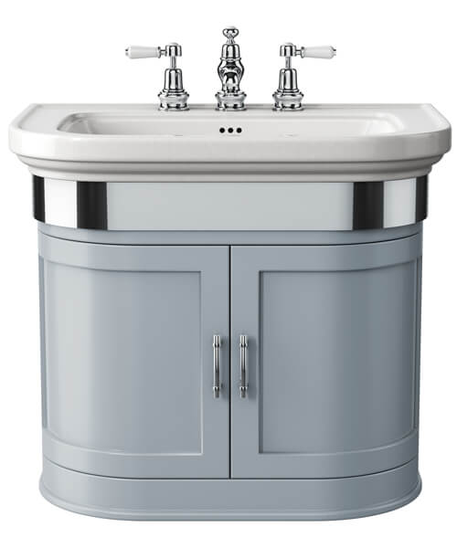 Additional image of Imperial Carlyon Thurlestone 715mm Wall Hung Vanity Unit