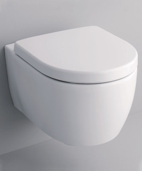 Additional image of Geberit Icon Wall Hung Washdown WC Pan 355 x 530mm