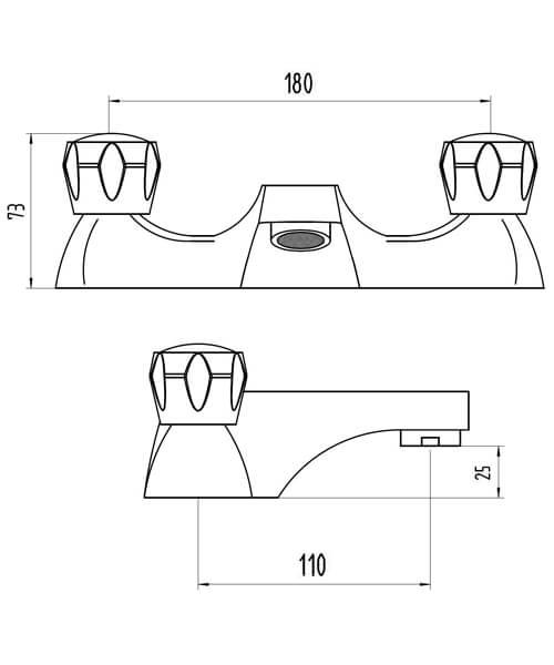 Technical drawing 62117 / BIQEN02