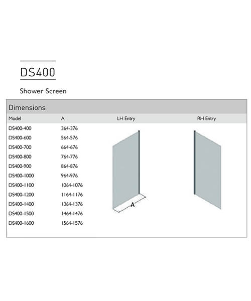 Technical drawing 54987 / DS400-400LHE