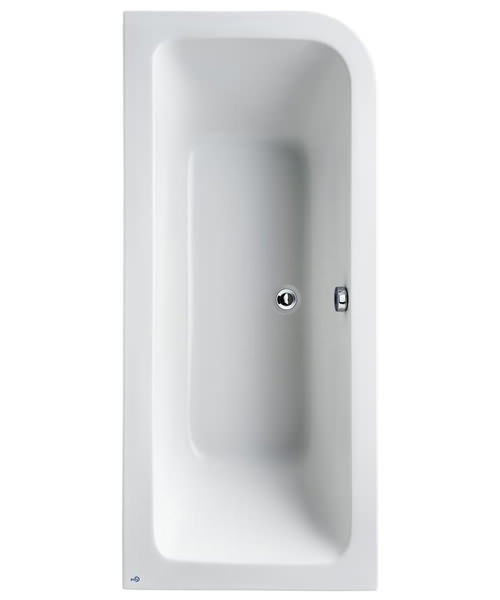 Ideal Standard Concept 1700 x 750mm Asymmetric Idealform Plus Bath