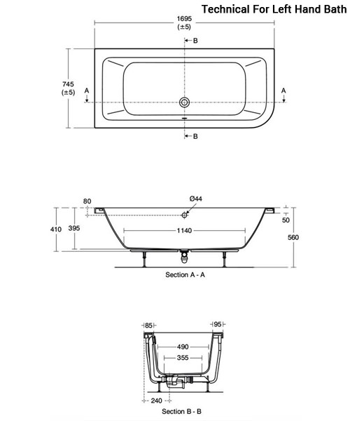 Technical drawing 59483 / E152501