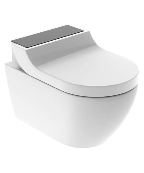 Additional image of Geberit AquaClean Tuma Comfort Rimeless Toilet With SoftClose Seat