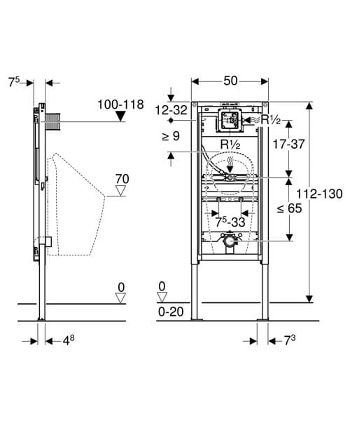 Technical drawing 61658 / 111.676.00.1