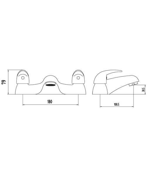 Technical drawing 62118 / BIQCO02