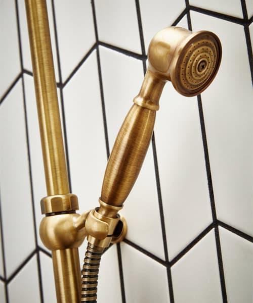 Additional image of Frontline Holborn Etros Brass Shower Column