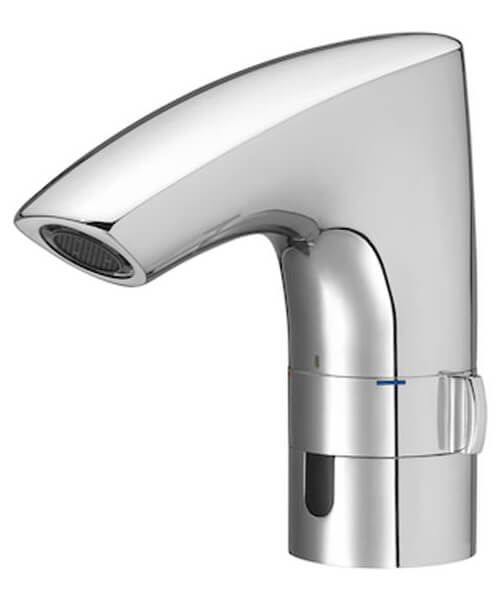 Additional image of Roca M3 Electronic Basin Mixer Tap With External Temperature Control - Battery Operated