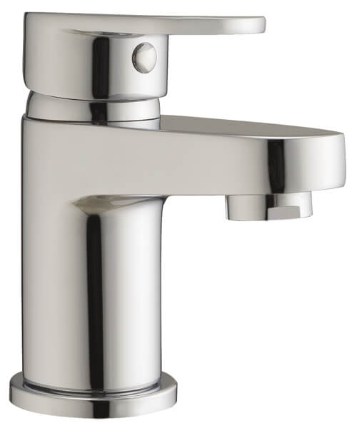 Frontline Sphere Mini Basin Mixer Tap With Click Clack Waste