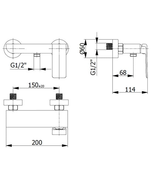 Technical drawing 60223 / FMART9730
