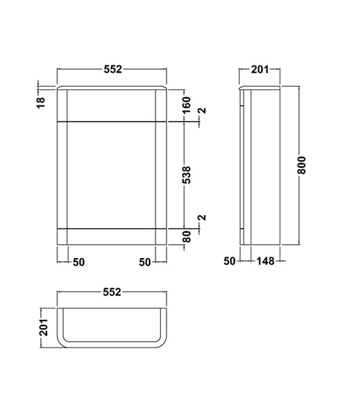 Technical drawing 49877 / CUR341