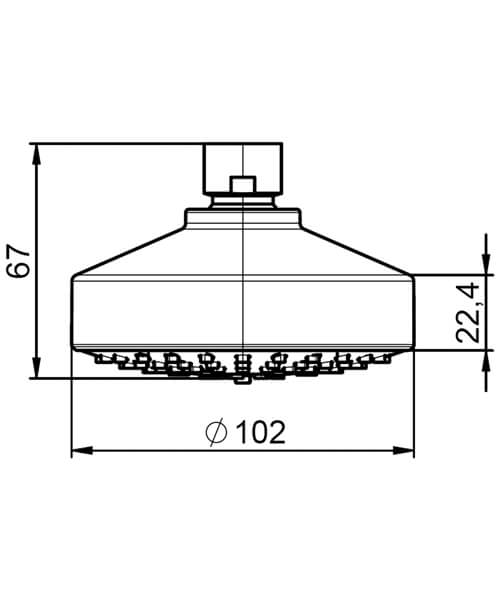 Technical drawing 55030 / 5BH103C00