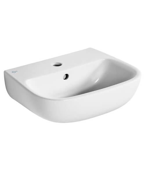 Ideal Standard Studio Echo 1 Tap Hole 450mm Basin With Overflow