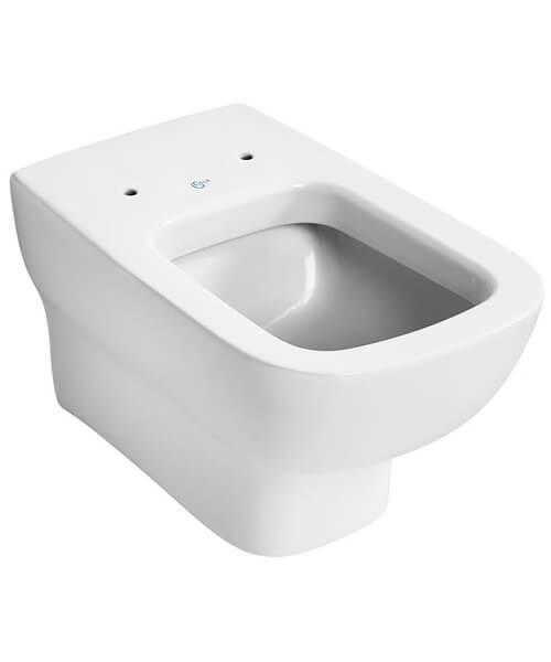 Ideal Standard Studio Echo Wall Mounted 545mm WC Pan With Horizontal Outlet