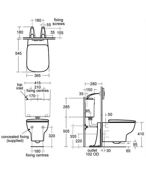 Technical drawing 58623 / E158501