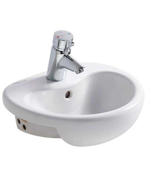 Armitage Shanks Contour 21 Splash 400mm Semi Countertop Washbasin