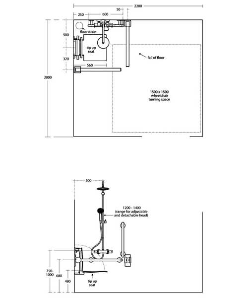 Technical drawing 58638 / S6407AA