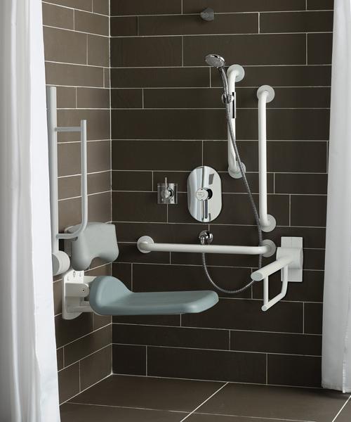 Armitage Shanks Contour 21 Doc M Shower Pack With Rails