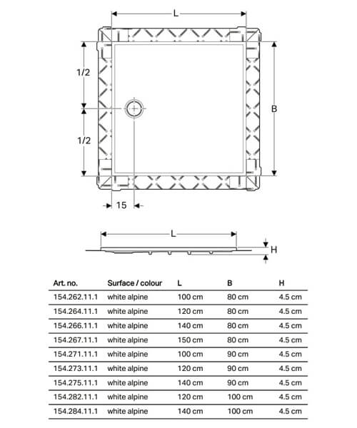 Technical drawing 61688 / 154.262.11.1