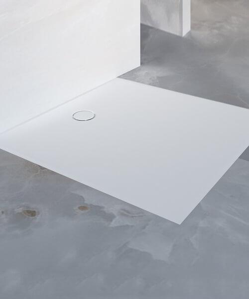 Additional image of Geberit Setaplano Rectangular Shower Surface White Alpine