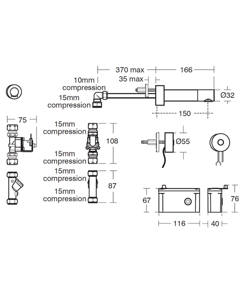 Technical drawing 40562 / A4180AA