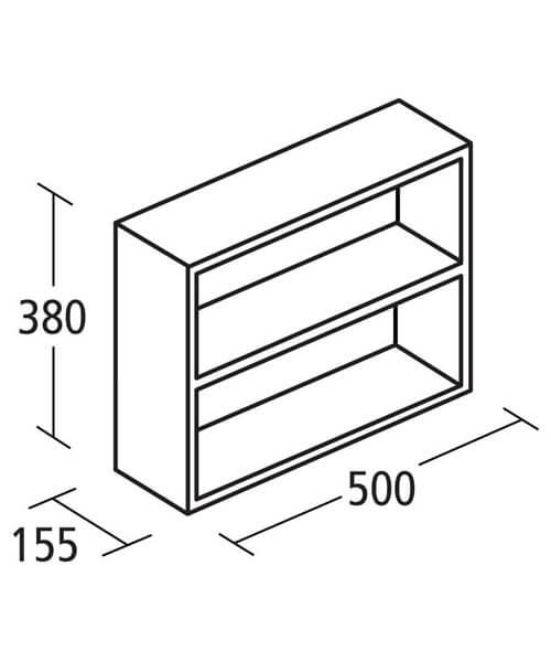 Technical drawing 58650 / E1435WG