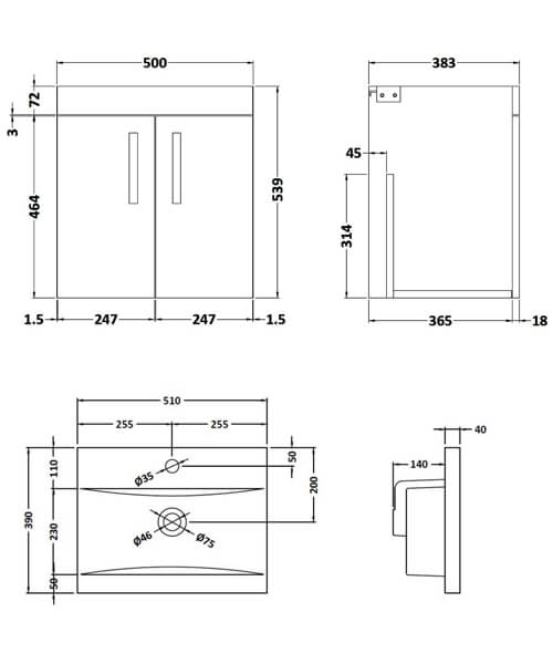 Technical drawing 59515 / ATH088A