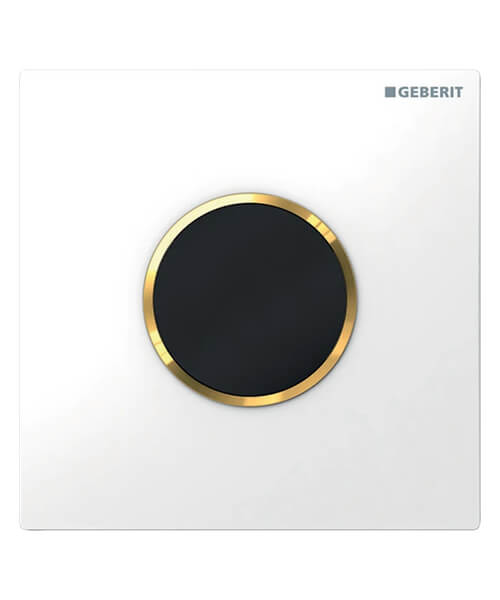 Additional image of Geberit Sigma10 Hytouch Battery Powered Infra-Red Urinal Flush Control
