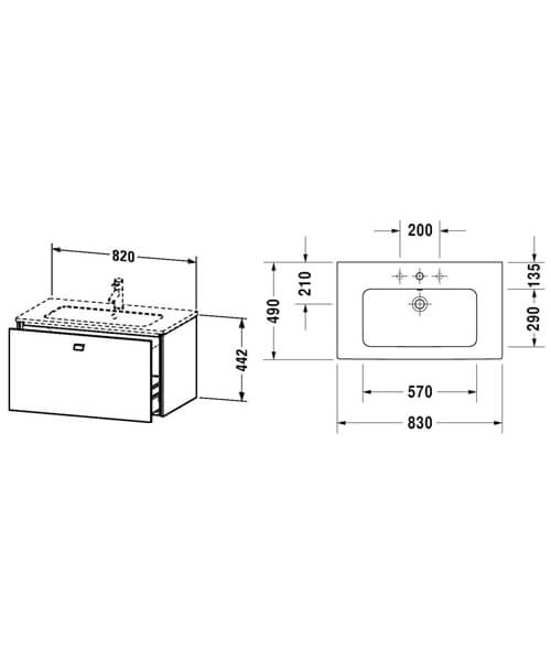 Technical drawing 62134 / BR400101818