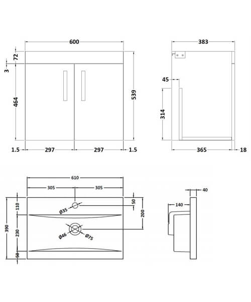 Technical drawing 59518 / ATH095A