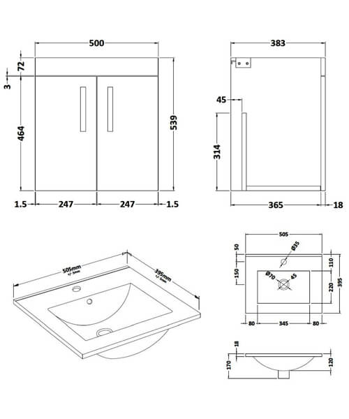 Technical drawing 59516 / ATH088B