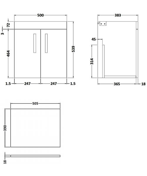 Technical drawing 59517 / ATH088W