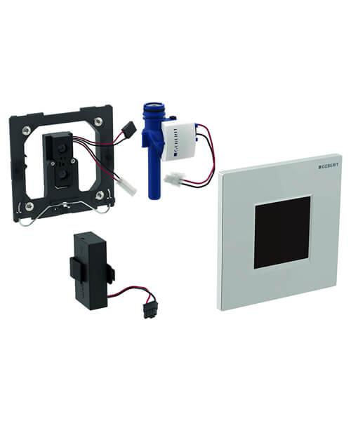 Geberit Sigma30 Urinal Flush Control Electronic Flush Actuation - Battery Powered