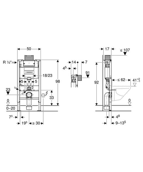 Technical drawing 61664 / 111.031.00.1