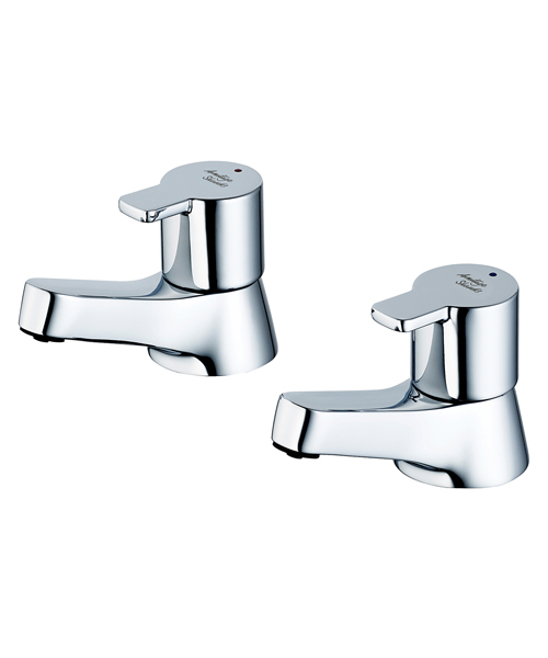 Armitage Shanks Sandringham 21 SL 3/4 Inch Pair Of Bath Pillar Taps