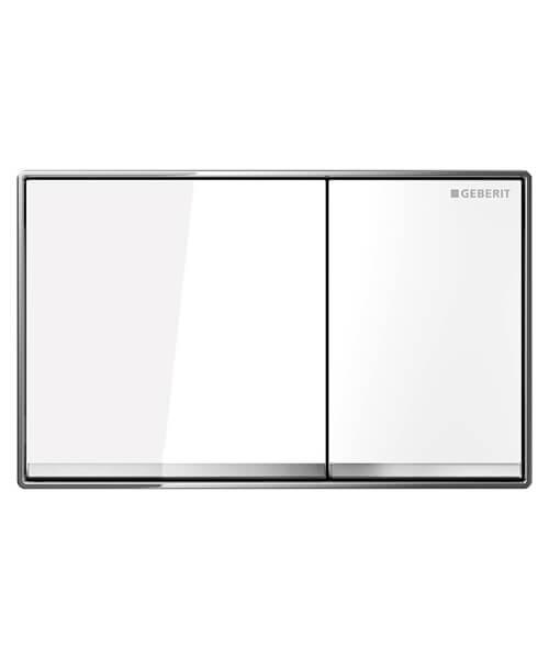 Geberit Omega60 Dual Flush Plate 184 x 114mm
