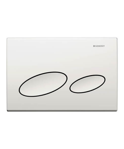 Geberit Kappa20 Dual Flush Plate 213 x 142mm
