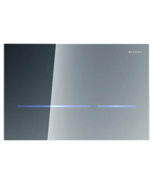Additional image of Geberit Sigma80 Touchless Mains Operated Dual Flush Plate Glass