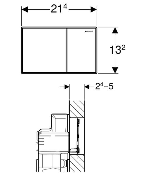 Technical drawing 61705 / 115.640.GH.1