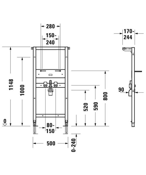 Technical drawing 59533 / WD2001000000
