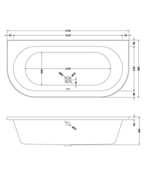 Technical drawing 30897 / BSG003