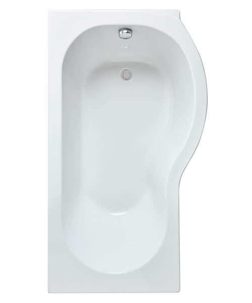 Additional image of Nuie Premeir 1500mm P-Shaped Shower Bath