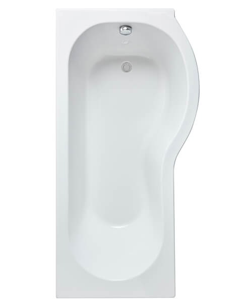 Alternate image of Nuie Premeir 1500mm P-Shaped Shower Bath