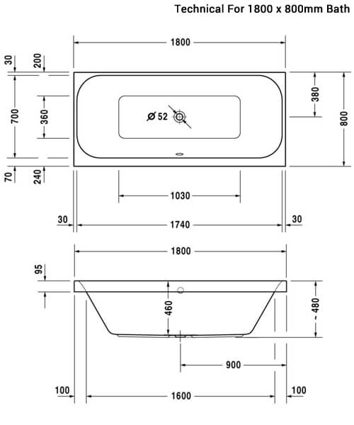 Technical drawing 27009 / 700327000000000