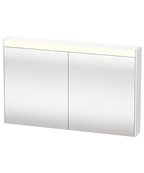 Duravit Brioso Double Door Mirror Cabinet 1220 x 760mm