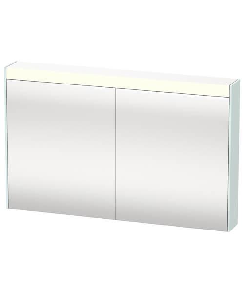 Additional image of Duravit Brioso 1220 x 760mm Double Door Mirror Cabinet