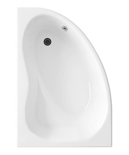 Nuie Premier Pilot 1450 x 950mm Corner Bath With Panel